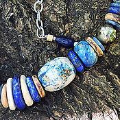 Украшения ручной работы. Ярмарка Мастеров - ручная работа Ожерелье Моя морячка. Handmade.