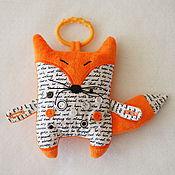 """Куклы и игрушки ручной работы. Ярмарка Мастеров - ручная работа Сенсорная игрушка """"Лисенок"""". Handmade."""