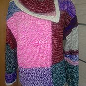 Одежда handmade. Livemaster - original item Multi-colored pullover. Handmade.