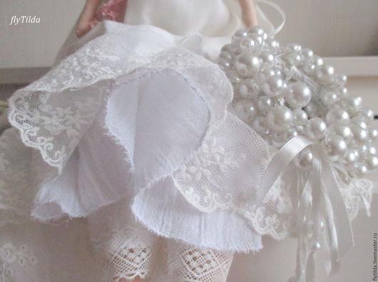 """Куклы Тильды ручной работы. Ярмарка Мастеров - ручная работа. Купить Интерьерная кукла """"Белый ангел"""". Handmade. Белый, кукла"""