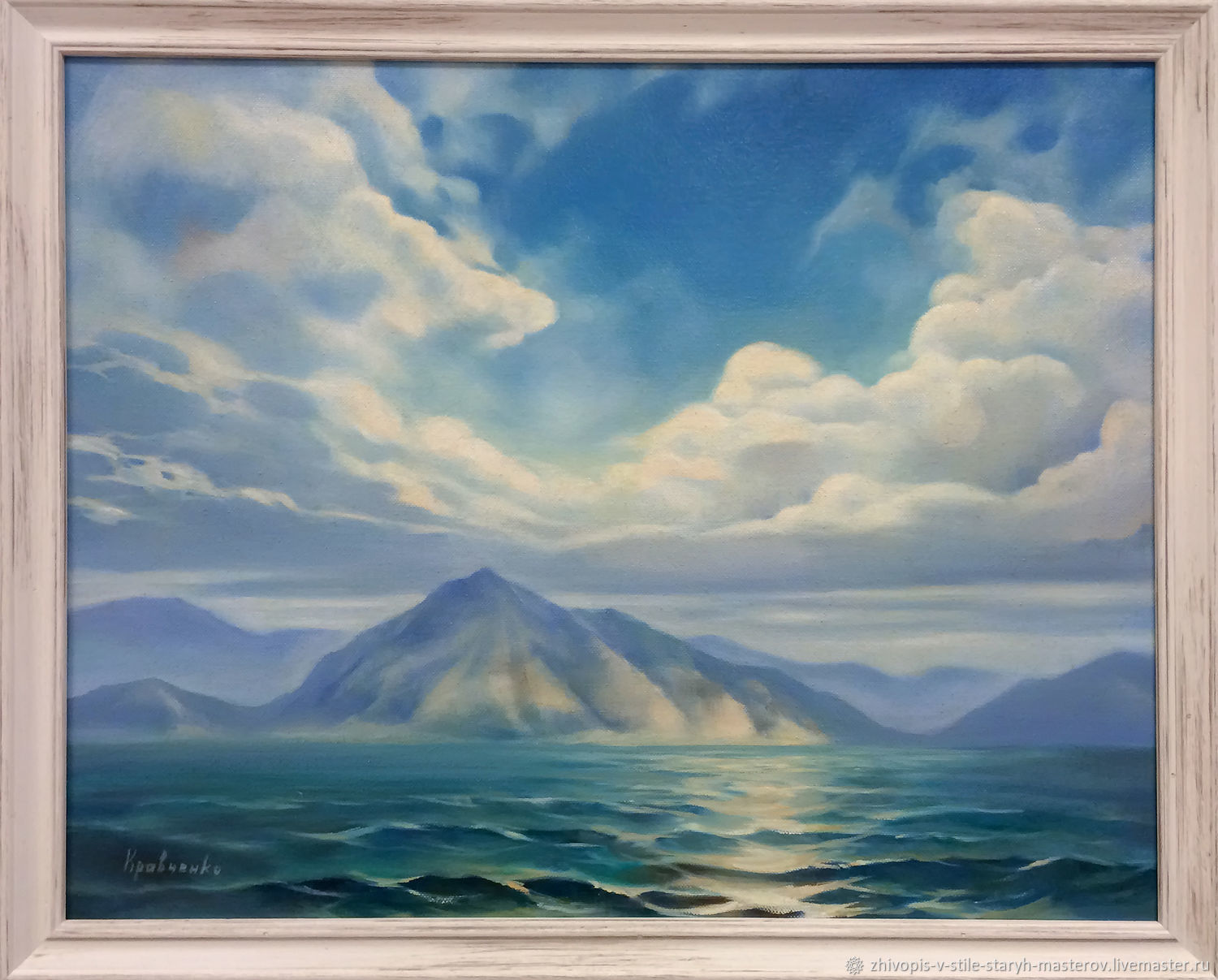 Oil painting 'Foreign shores', Pictures, St. Petersburg,  Фото №1