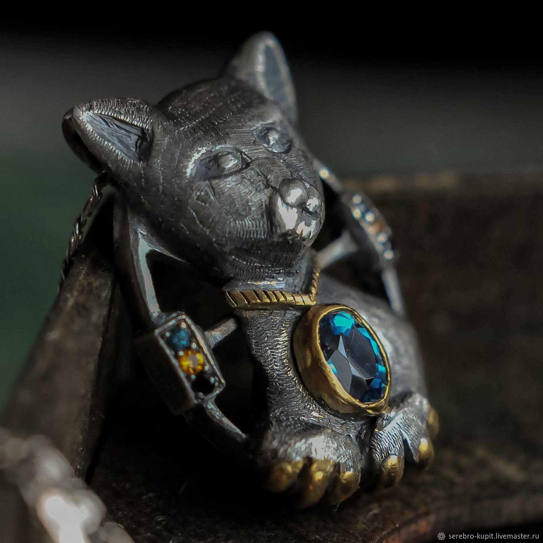 Pendant silver plating - CAT. Pendant natural stones, Pendants, St. Petersburg,  Фото №1