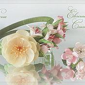 Украшения ручной работы. Ярмарка Мастеров - ручная работа Ободок с цветами Весна. Handmade.