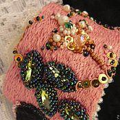 Украшения ручной работы. Ярмарка Мастеров - ручная работа браслет Pink/Розовые травы. Handmade.