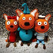 Мягкие игрушки ручной работы. Ярмарка Мастеров - ручная работа Котята. Handmade.