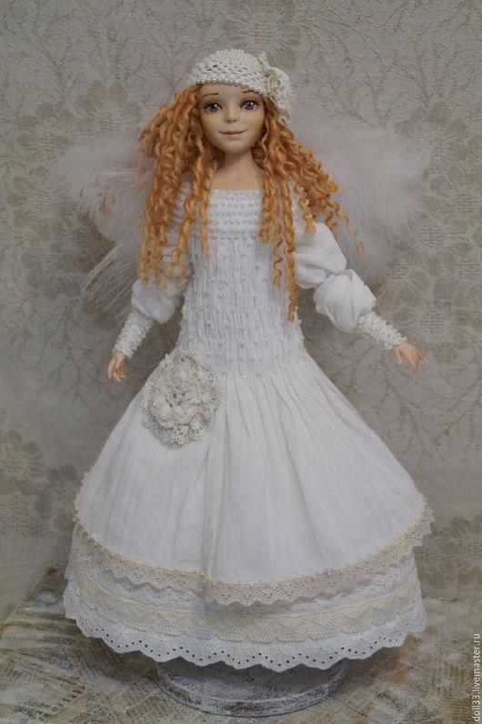 Коллекционные куклы ручной работы. Ярмарка Мастеров - ручная работа. Купить Элиза. Handmade. Белый, хороший подарок, кружево хлопок