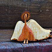 Русский стиль handmade. Livemaster - original item Angel.Figure of wood.Sunny breeze. The author`s work. Handmade.