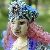 Куклы и игрушки handmade. Livemaster - original item Doll bird Sirin.Alkonost. Humayun.the prophetic bird. Handmade.