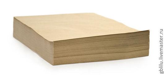 Упаковка ручной работы. Ярмарка Мастеров - ручная работа. Купить Крафт-бумага (90 г/м2). Handmade. Крафт-бумага, упаковка