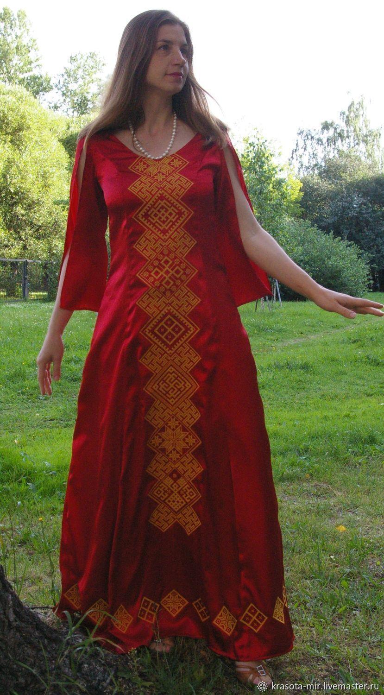 Платье свадебное из шелка с вышивкой, Платья, Санкт-Петербург, Фото №1