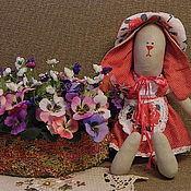 Куклы и игрушки ручной работы. Ярмарка Мастеров - ручная работа Зайка Ягодка. Handmade.