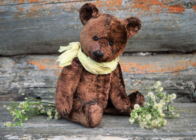 An old Soviet bear (pattern 30-40 years), Teddy Bears, Samara,  Фото №1