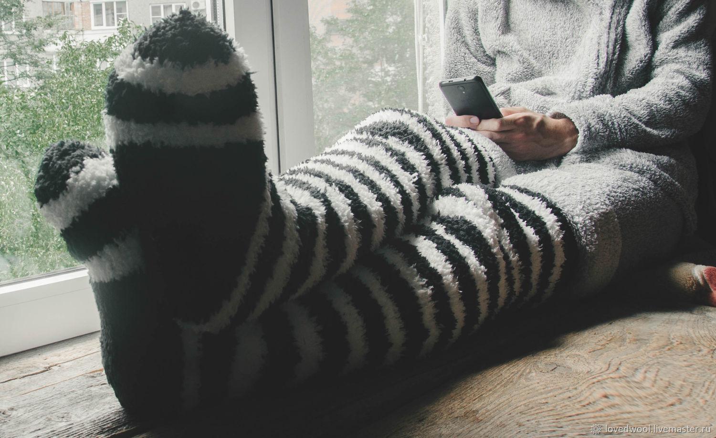 Эксклюзивные толстые длинные махровые чулки, Чулки, Нальчик,  Фото №1