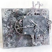 """Для дома и интерьера ручной работы. Ярмарка Мастеров - ручная работа Часы """"Механические истории"""". Handmade."""