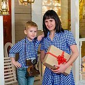Одежда ручной работы. Ярмарка Мастеров - ручная работа Family look для всей семьи. Handmade.