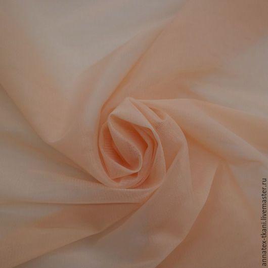 Фатин матовый - Hayal Tulle Life - цвет персиковый №8L