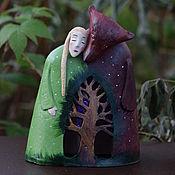"""Для дома и интерьера ручной работы. Ярмарка Мастеров - ручная работа Ночник """"Анастасия - голос высокой травы"""". Handmade."""