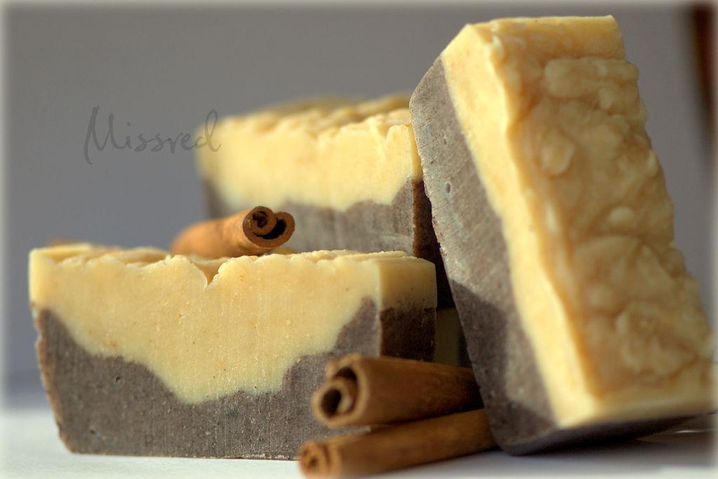 'Ginger and Cinnamon'. Natural handmade soap, Soap, Nizhny Novgorod,  Фото №1