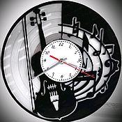 Для дома и интерьера handmade. Livemaster - original item Watch from vinyl records: The violin music.. Handmade.