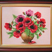 Картины и панно ручной работы. Ярмарка Мастеров - ручная работа красное лето. Handmade.
