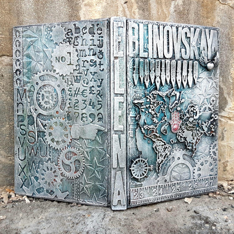 Блокноты именные в авторской технике, Блокноты, Москва,  Фото №1