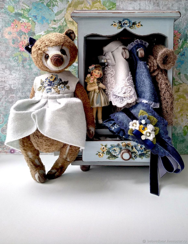 Грета 23 см, игрушка, шкафчик, одежда, Мягкие игрушки, Москва,  Фото №1