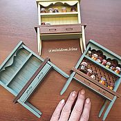 Куклы и игрушки handmade. Livemaster - original item Miniature cupboard for doll house doll furniture. Handmade.