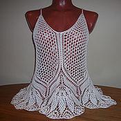 Одежда handmade. Livemaster - original item Summer tunic for the beach.. Handmade.