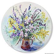 Картины и панно handmade. Livemaster - original item A bouquet of wild flowers. Oil painting. Handmade.