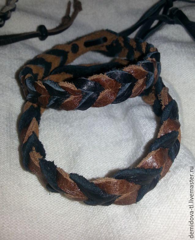 браслеты из кожи унисекс