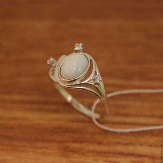 Кольца ручной работы. Ярмарка Мастеров - ручная работа. Купить Серебряное кольцо Искринка, серебро 925. Handmade. Серебряный