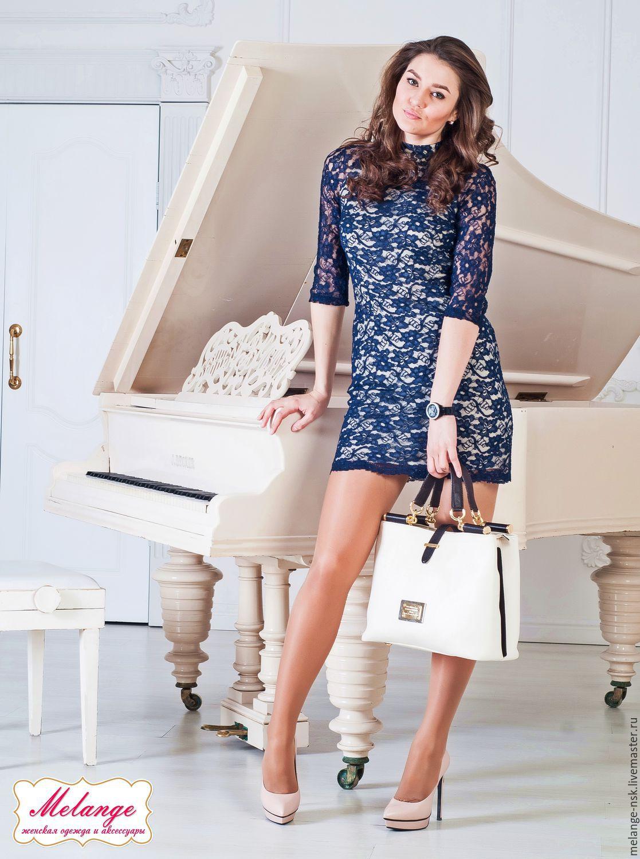 b086859cbef Платья ручной работы. Ярмарка Мастеров - ручная работа. Купить Синее платье  по фигуре из ...