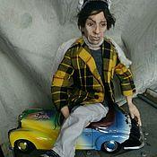 Куклы и игрушки ручной работы. Ярмарка Мастеров - ручная работа Остап Бендер, интерьерная коллекционная кукла. Handmade.