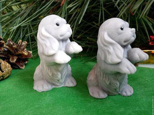 Персональные подарки ручной работы. Ярмарка Мастеров - ручная работа. Купить Мыло маленький щенок приятнй подарок для детей и взрослых. Handmade.