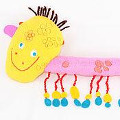 Куклы и игрушки ручной работы. Ярмарка Мастеров - ручная работа Лошадь по рисунку ребенка текстильная. Handmade.
