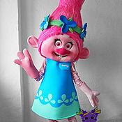 Дизайн и реклама handmade. Livemaster - original item Troll Poppy. Life-size puppet. Handmade.