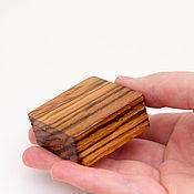 handmade. Livemaster - original item Gift wooden box made of Zebrano. Handmade.