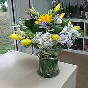 Цветы и флористика ручной работы. Ярмарка Мастеров - ручная работа Букет для любимой. Handmade.