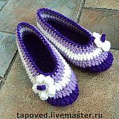 """Обувь ручной работы. Ярмарка Мастеров - ручная работа Тапочки """"Очаровашки"""". Handmade."""
