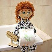 Лили, кукла - держатель для туалетной бумаги
