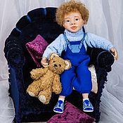 Куклы и игрушки ручной работы. Ярмарка Мастеров - ручная работа Один дома. Матвей. Handmade.