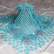 Аксессуары ручной работы. Ярмарка Мастеров - ручная работа воздушная шаль. Handmade.