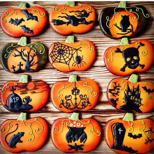 Пряники на хэллоуин своими руками 25