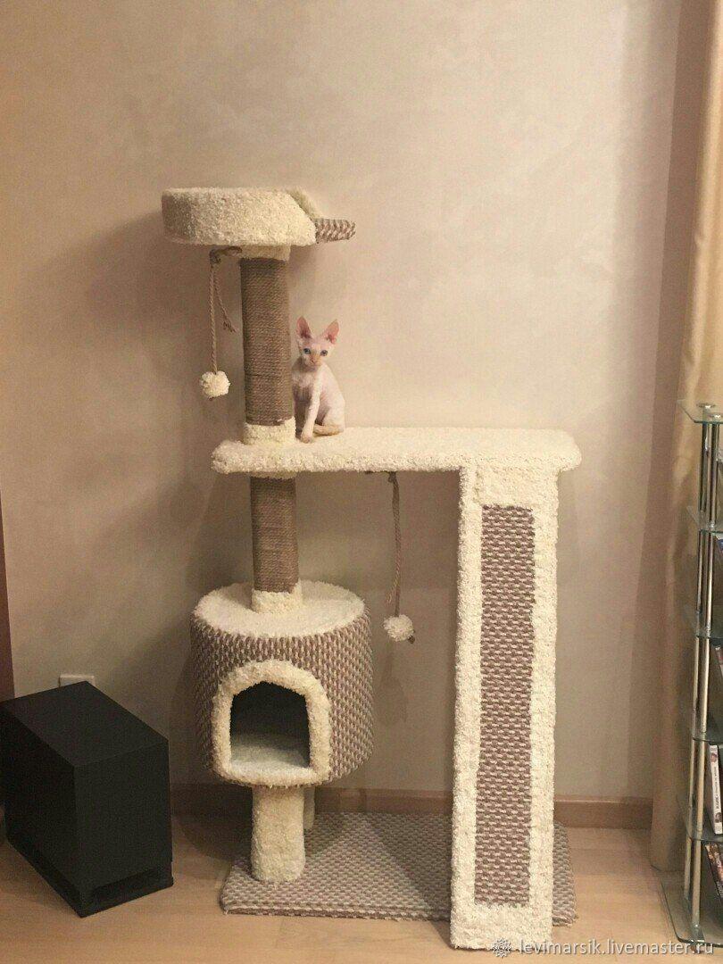 Когтеточка, комплекс для кошек, Аксессуары для кошек, Уфа, Фото №1