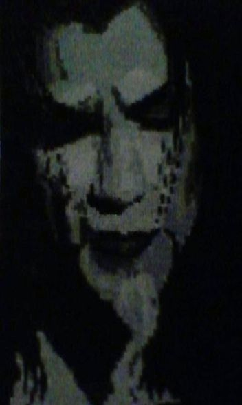 Люди, ручной работы. Ярмарка Мастеров - ручная работа. Купить Портрет Дракулы. Handmade. Портрет по фотографии, вышивка крестиком, канва