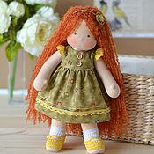 Куклы и игрушки ручной работы. Ярмарка Мастеров - ручная работа Вальдорфская кукла Кнопочка, 35 см. Handmade.