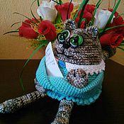 Куклы и игрушки ручной работы. Ярмарка Мастеров - ручная работа Котейка выбирает профессию. Handmade.