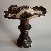 """Цветы и флористика ручной работы. Ярмарка Мастеров - ручная работа скульптурка """"Гриб"""". Handmade."""