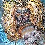 Картины и панно ручной работы. Ярмарка Мастеров - ручная работа Картина Кузенька. Handmade.