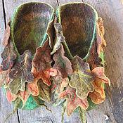 """Обувь ручной работы. Ярмарка Мастеров - ручная работа Тапки """"Поверьте в Лешего"""". Handmade."""